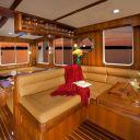 Helmsman 37 Sedan 2 Strm Interior Companion seating
