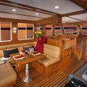 Helmsman 37 Sedan 2 Strm Interior from galley