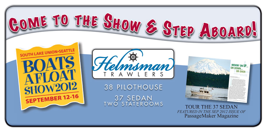 Helmsman Trawlers 38 Pilothouse and 37 Sedan